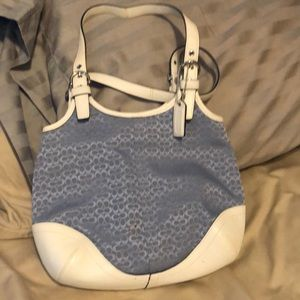 Coach purse with dust bag.